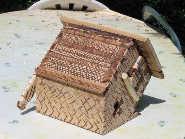 cabane oiseaux nichoirs. Black Bedroom Furniture Sets. Home Design Ideas